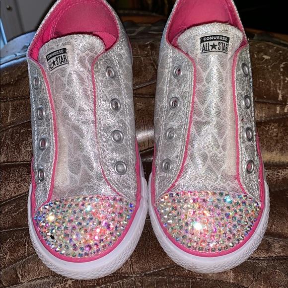 Converse Shoes - Little girls converse